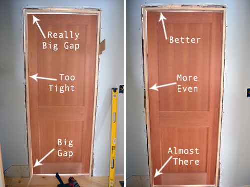 Adjust Shims Until Door Jambs Are Square & Adjust Shims Until Door Jambs Are Square - Angie\u0027s Roost