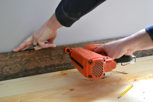 Nail Baseboards Into Studs