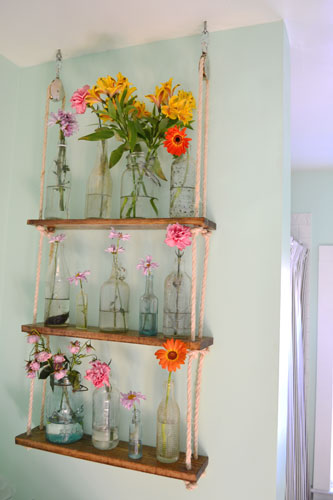 Rope Shelf With Pulleys