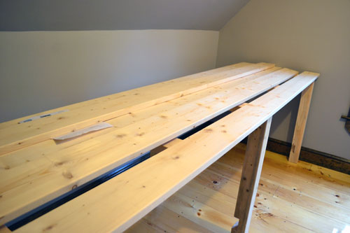 Adding Desk Top Planks  Angies Roost