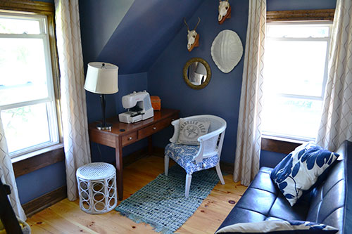 Freshened Up Guest Room