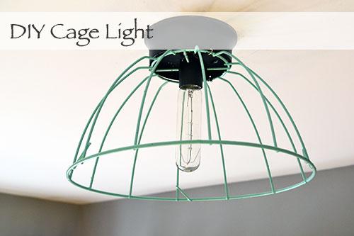 DIY Cage Light Fight