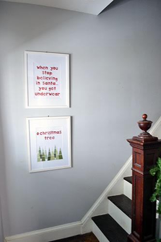 Christmas DIY Art 2013