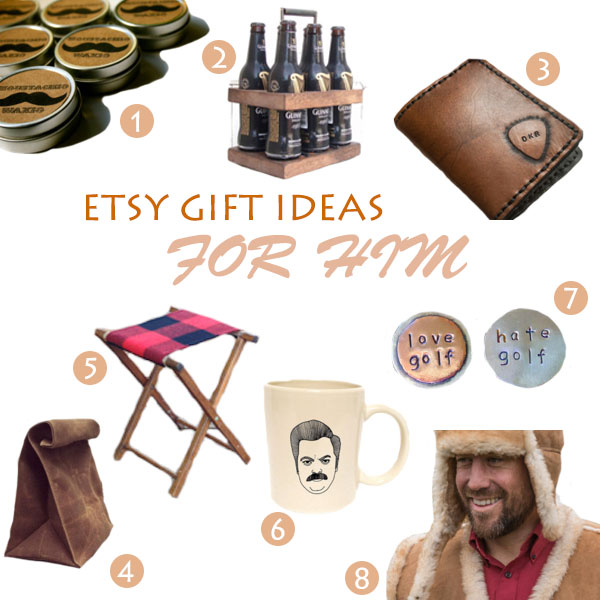Etsy Gift Ideas For Him 2013