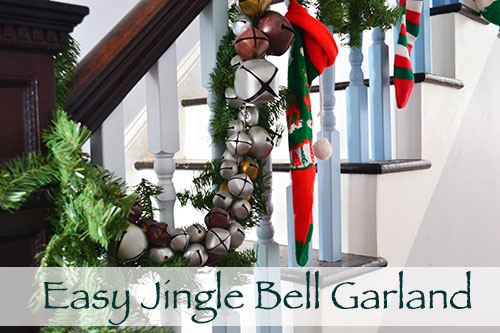 How To Make Easy Jingle Bell Garland