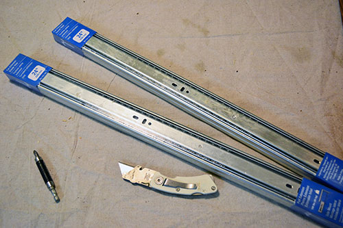 Heavy Duty Drawer Slides