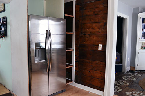Kitchen Pull Out Pantry Shelves: Pantry Finishing Touches