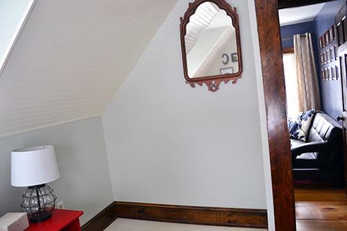 Master Bedroom Wall Pre Stenciling
