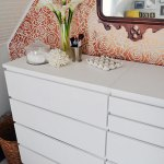 Chalk Painted Ikea Malm Dressers