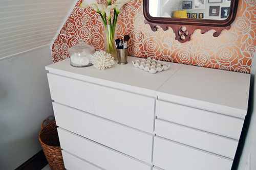 Chalk Painted Ikea Malm Dressers