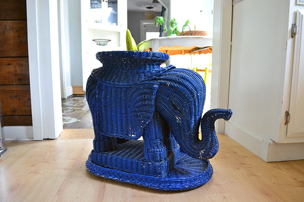 Wicker Elephant Find