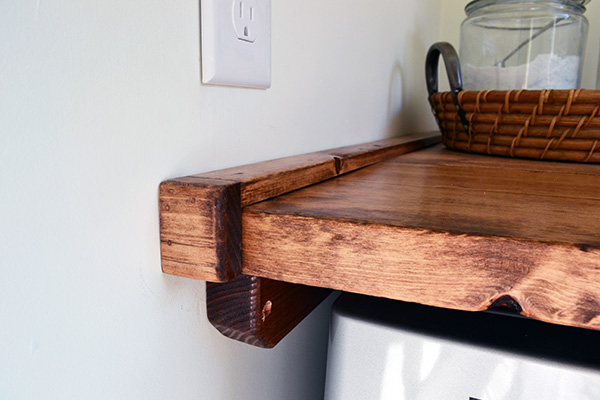Laundry Room Folding Shelf Wedges