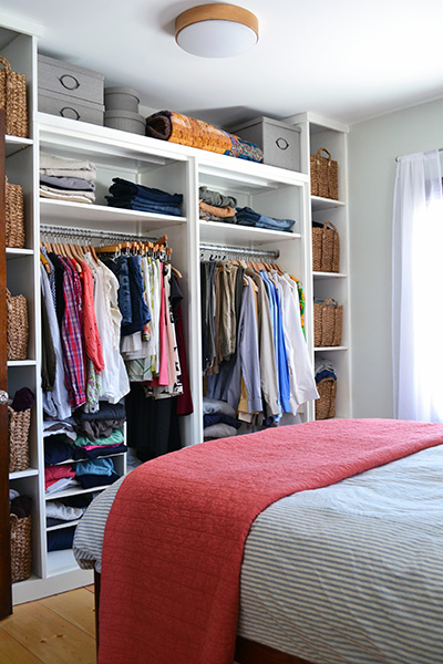Master Bedroom Built-In Closet