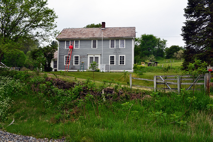 Painting An Old Vermont Farmhouse