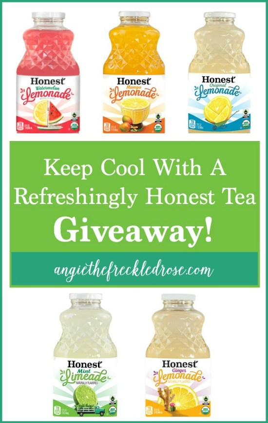 Keep Cool With A Refreshingly Honest Tea Giveaway!