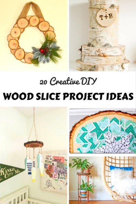 Dishing It & Digging It | 20 Creative DIY Wood Slice Projects | angiethefreckledrose.com