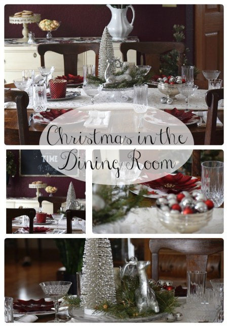 Christmas In The Dining Room - Timeless Creations