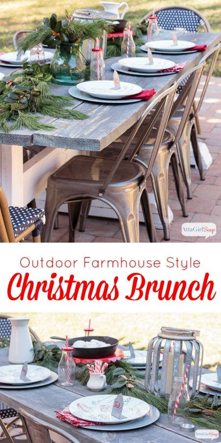 Farm Table Christmas Brunch - Atta Girl Says