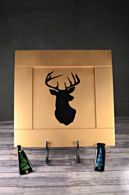 Upcycled Golden Reindeer Decor - Simply {Darr}ling