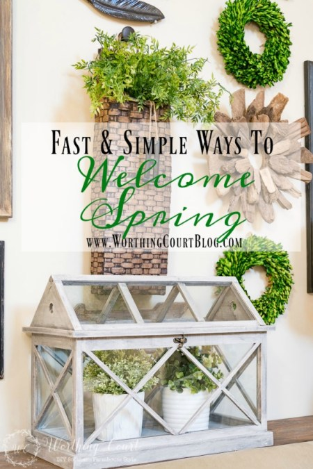 6 Simple Ways to Welcome Spring Into Your Home - Worthing Court
