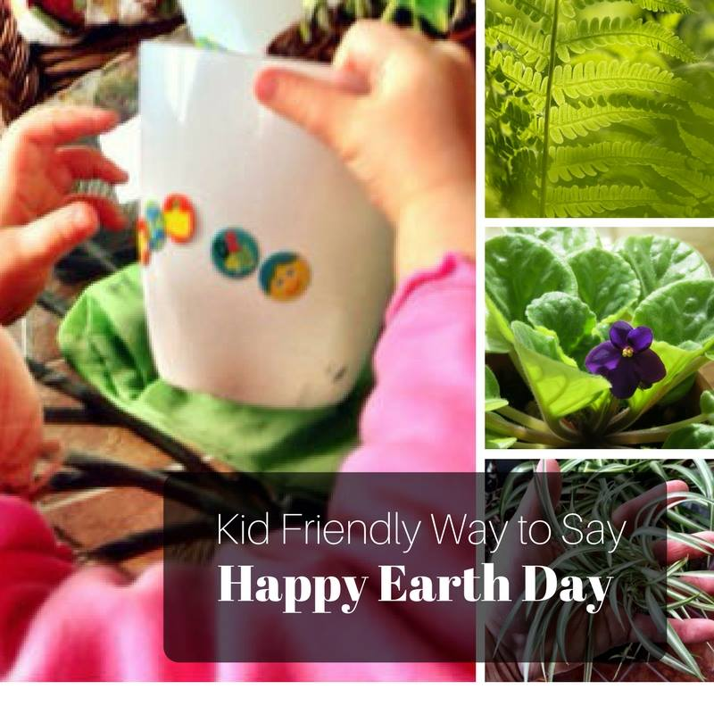 Kid Friendly Way to Say Happy Earth Day - Creative Living with Bren Haas