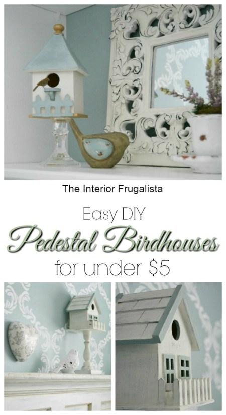 Easy DIY Birdhouses | The Interior Frugalista