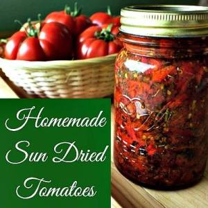 Homemade Sun Dried Tomatoes - Homemade Food Junkie