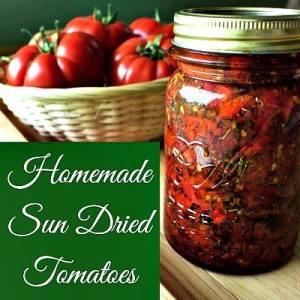 Homemade Sun Dried Tomatoes - Homemade Food Junkie