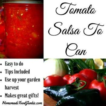 Tomato Salsa To Can - Homemade Food Junkie