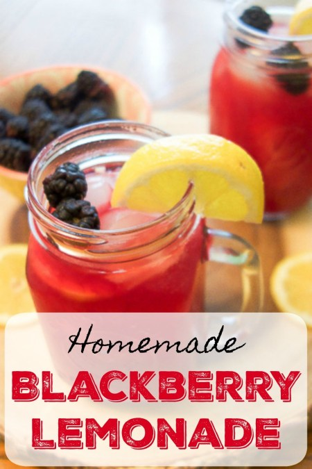 Homemade Blackberry Lemonade | Health, Home & Heart
