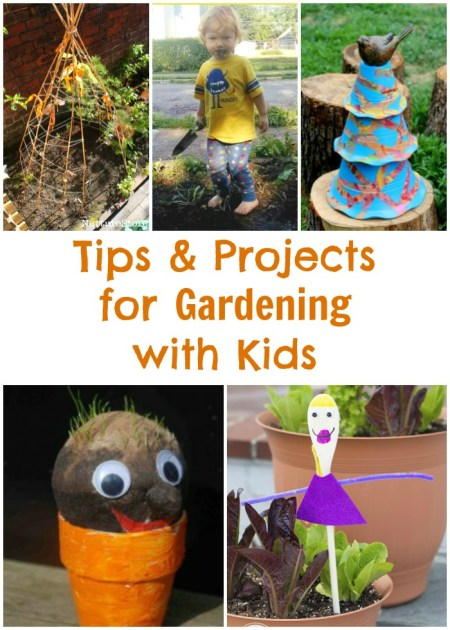 Tips & Projects for Gardening With Kids | Mommies Reviews