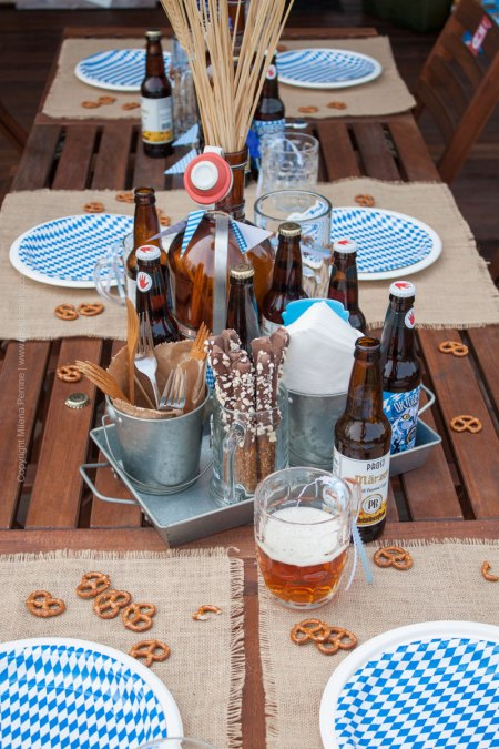 Oktoberfest Party Tablescape | Craft Beering