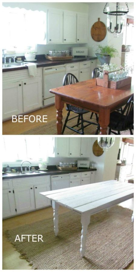 How to Plank an Existing Table | Kingsbury Brook Farm