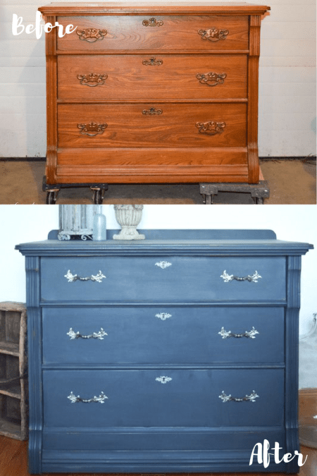 Charcoal Dresser Surprise | Timeless Creations