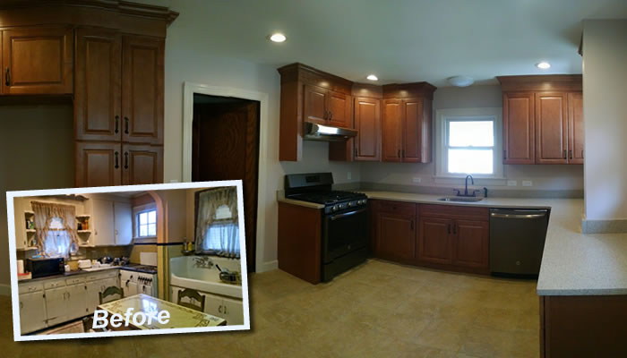 kitchen contractor bamboo utensils remodeling union county nj summit