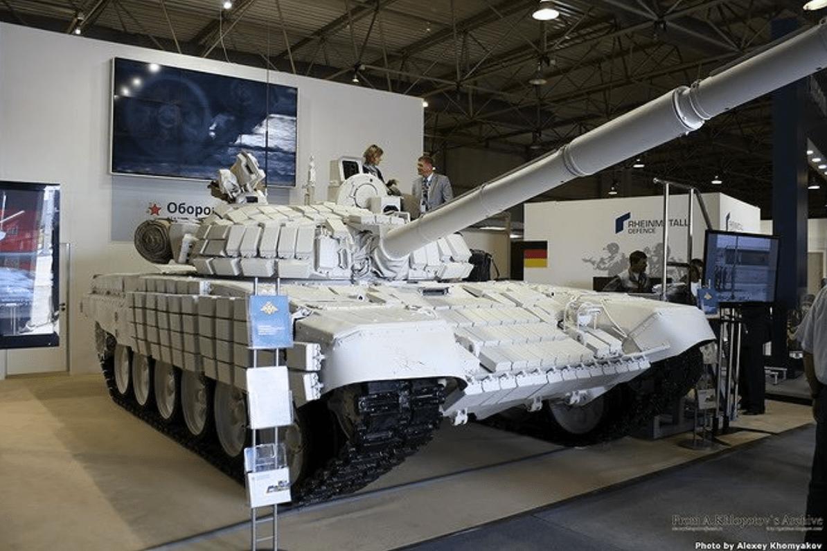 Uruguay Akan Terima 100 Tank T-72B1MS 'White Eagle' dari Rusia