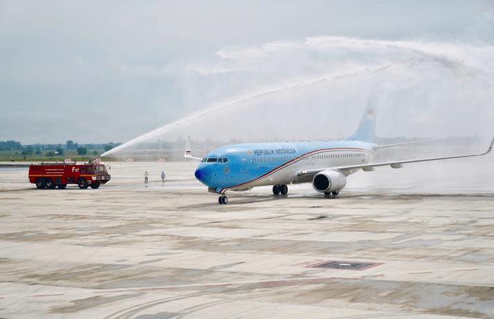 Mendaratnya BBJ 2 di Bandara Internasional Kertajati Jadi Momen Penting Bagi BJIB dan AP II