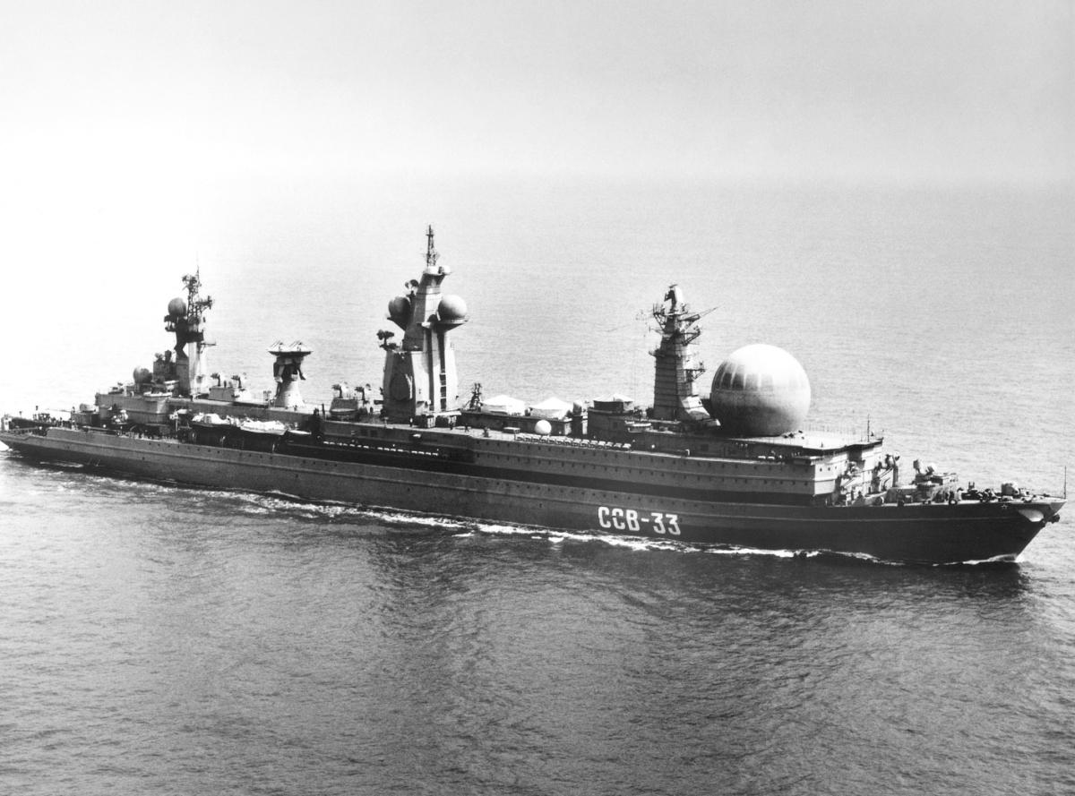 SSV-33 Ural, Kapal Uni Soviet Penangkal Perang Luar Angkasa