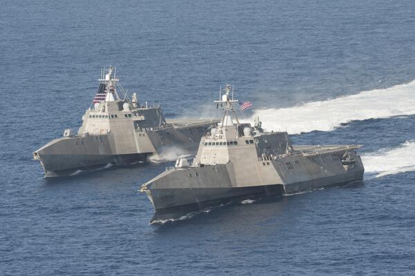 Sejak 2005 Saab Pasok Radar Sea Giraffe AMB untuk Kapal-kapal Perang AL AS