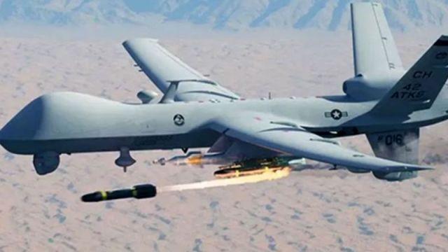 MQ-9 Reaper luncurkan Hellfire