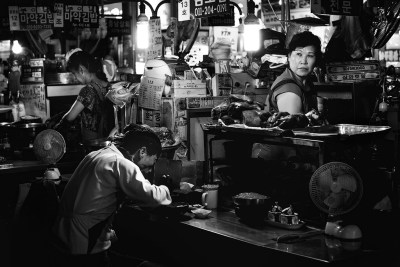 Seoul's Gwangjang Night Market by Chris Cusick