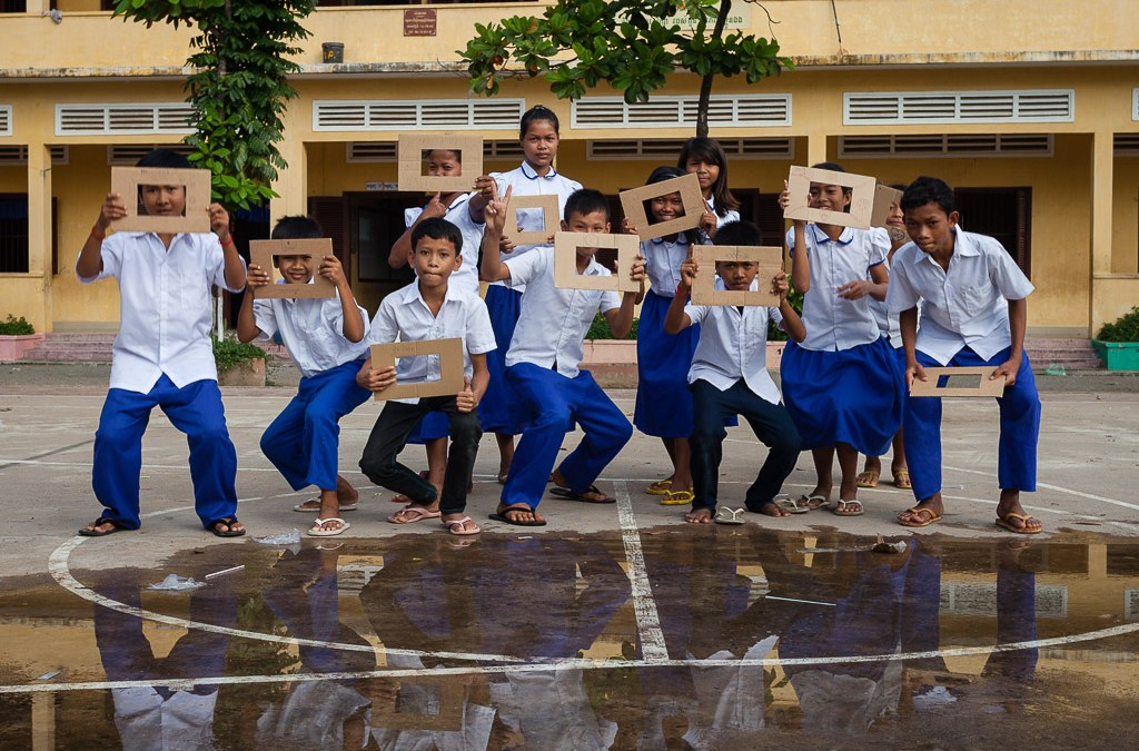A New Photography Workshop for Children in Cambodia