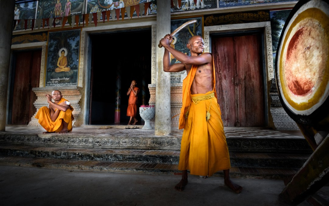 """""""The Drum""""   Behind the Scenes with Angkor Travel Photography"""