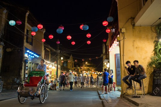 Hoi An Old Town at night