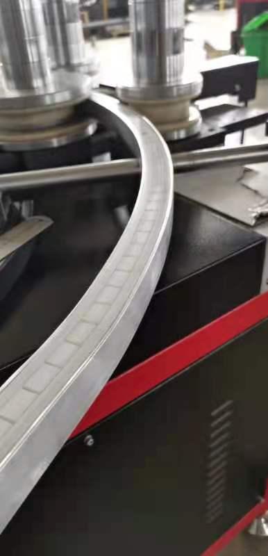 Bending U channel aluminum profile