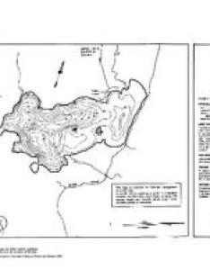 Contour map for wollaston lake ontario also angler   atlas rh anglersatlas