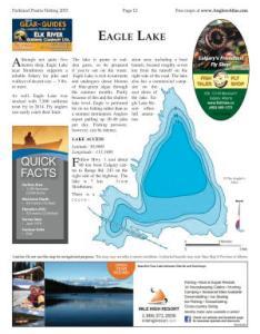 Shaded contour map for eagle lake alberta also angler   atlas rh anglersatlas