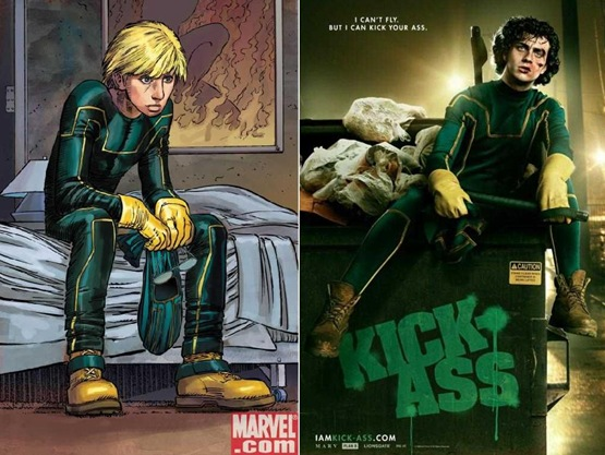 KickAss - Comic Vs Movie