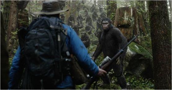 la planète des singes l'affrontement - 2