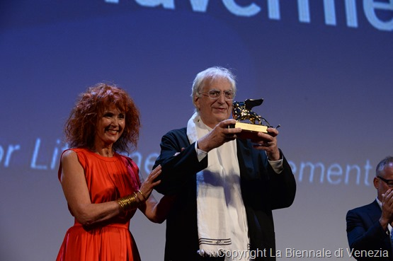27308-Sala_Grande_-_Golden_Lion_for_Lifetime_Achievement_-_S._Azema__B._Tavernier_-____la_Biennale_di_Venezia_-_Foto_ASAC__2_
